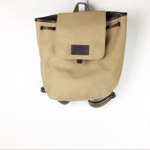Lauren Ralph Lauren   canvas backpack